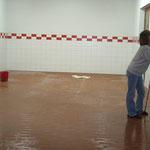 Renovierung Hallen 2009
