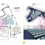 Aménagement modulable d'une salle de 130m² pour un Ministère
