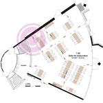 Etude d'une salle de restauration de 160m² d'un centre de retraite à Parmain (95)