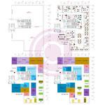 Etude de cloisonnement, d'aménagement et de répartition des pôles de travail d'un plateau vide de 660 m² à Massy