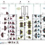Etude de space planning à Paris dans le 18e