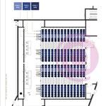 Etude colorimétrique d'une salle de projection à Vélizy-Villacoublay (78)