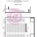 Etude d'un amphithéâtre de 250m² à Bordeaux (33)