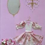 La robe rose 70x50