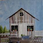 Cabane de jardin 80x80