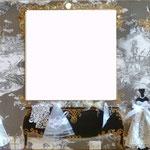 Salon des mariages miroir 100x50