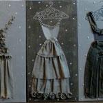 Robes de lin  3x40x80