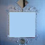 """""""Miroir argenté"""" 80x100"""