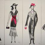 Parisiennes rose 4x20x50