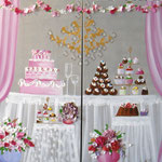 """""""Banquet festif"""" 2x100x80"""