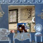 Appartement à Versailles avec miroir 50x70
