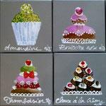 Cakes 8x20x20