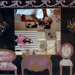 appartement a Versailles rose 70x50