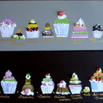 Cup cakes 4x20x50