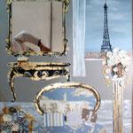 Paris a la fenêtre 80x100