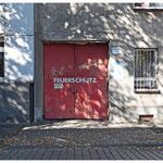 Die Feuerschutztür