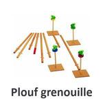 Plouf grenouille