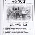 Gazette #06 : Juin - Juillet 2006