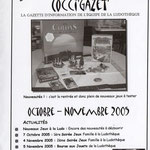 Gazette #02 : Octobre - Novembre 2005