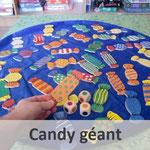 Candy géant