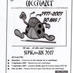 Gazette #13 : Septembre 2007