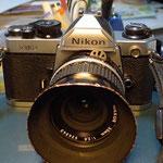 FM2 甲斐氏のカメラとしては非常にきれい