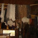 Echeveau de laine de lama