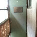 ドアの色はこうなりました。