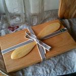スウェーデン バターナイフ&ボードセット