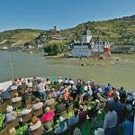Die Pfalz bei Kaub (© KD Deutsche Rheinschiffahrt AG / Foto: Horst Goebel)