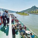 Ausflug ins UNESCO Welterbe Oberes Mittelrheintal (© KD Deutsche Rheinschiffahrt AG / Foto: Horst Goebel)