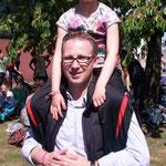 Lara und ihr Papa