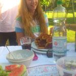 Na Sarah.....willst du das alles essen?