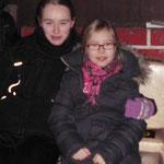 Nicole und Lara
