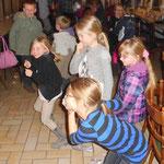Die Kinder am Tanzen :)