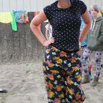 Tanja in ihrem Lieblings-Outfit :)