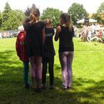 Lara, Janne, Tete und Kyra