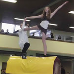"""Hannah und Sarah beim Duo zum Thema """"Tarzan und Jane"""" als Beginn des Tages!"""