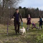 Der Eierlauf - eine Herausforderung mit Hund