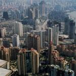 Shanghai aus dem Jinmao Tower 1