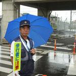 雀宮地区交通安全協会 篠原竹雄会長