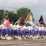 雀宮中学校体育祭