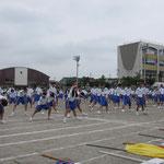 若松原中学校運動会