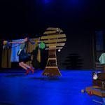 poppentheater, poppentheater vlaanderen, rijdend poppentheater, lappie lapstok, kindertheate