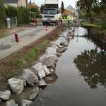 CAZORLA TP : enrochement pierres, berges, bord de route pour des travaux de terrassement et aménagement