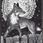 Full Moon Fox, Edition SOLD OUT