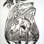 Beasts of Trade and Consequence, Woodcut, Edition SOLD OUT