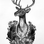 Remember Me: Trophy I, Stag, Available in the SHOP