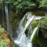 Wasserfälle Slunj in Richtung Plitvicer Seen