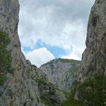 Velika Paklenica (große Schlucht)